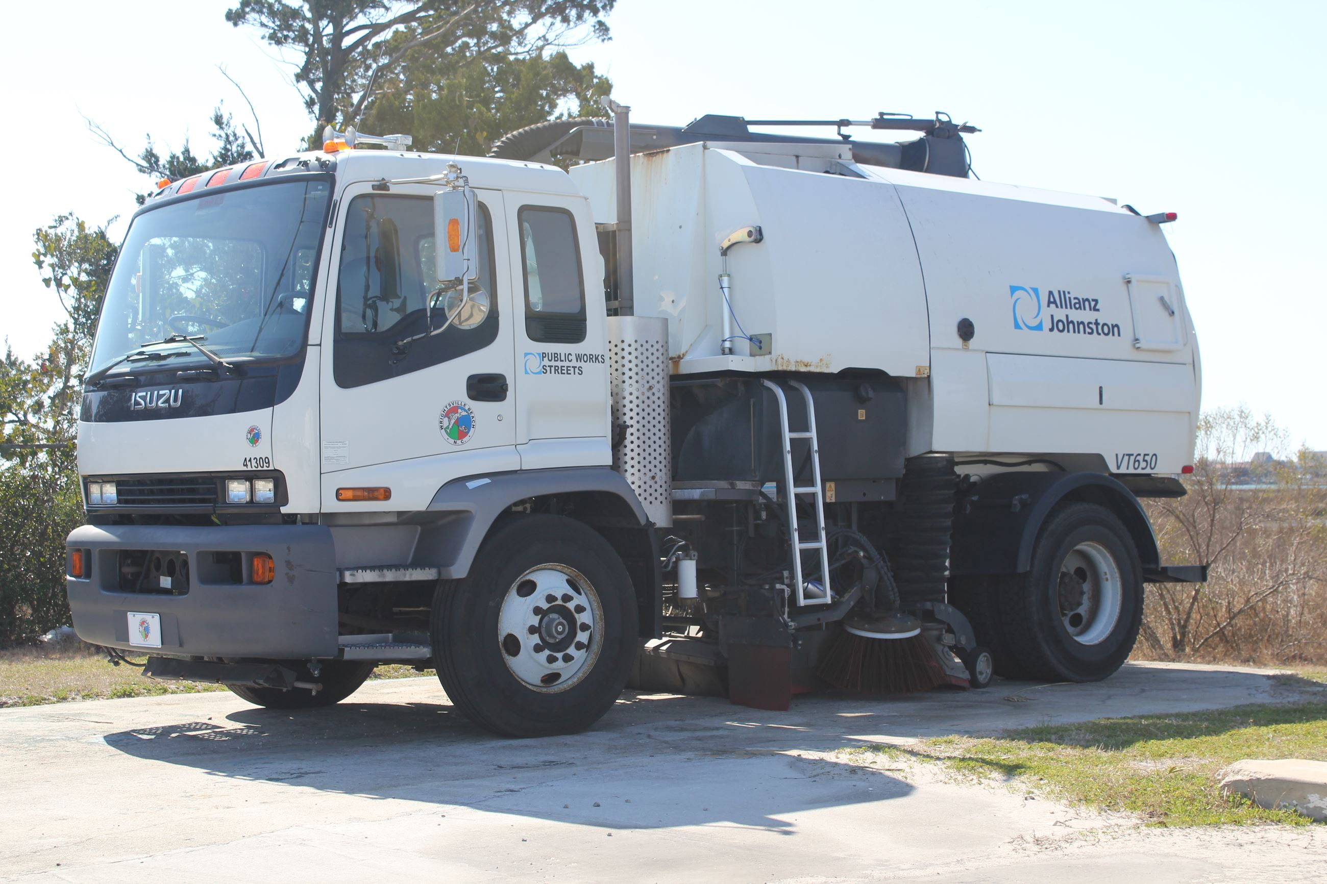 Town of WB Street Sweeper